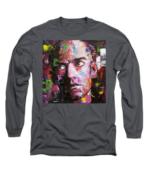 Michael Stipe Long Sleeve T-Shirt by Richard Day