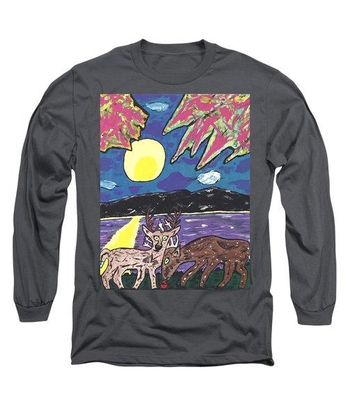 Michigan Nature Scene. Long Sleeve T-Shirt by Jonathon Hansen