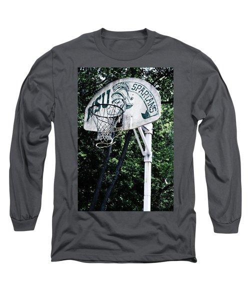 Michigan State Practice Hoop Long Sleeve T-Shirt