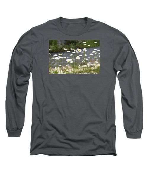 Mickelson Trail Daisies Long Sleeve T-Shirt