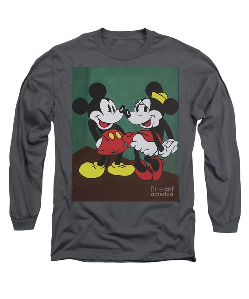 Mickey And Minnie Long Sleeve T-Shirt