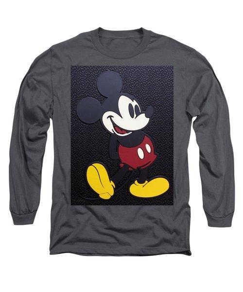 Mickey Mat Long Sleeve T-Shirt