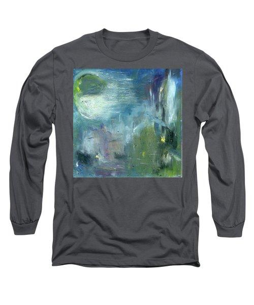 Mid-day Reflection Long Sleeve T-Shirt by Michal Mitak Mahgerefteh