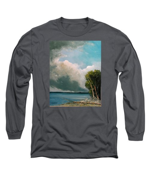 Midday Clouds Long Sleeve T-Shirt