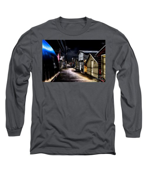 Midnight At The Boathouse Long Sleeve T-Shirt