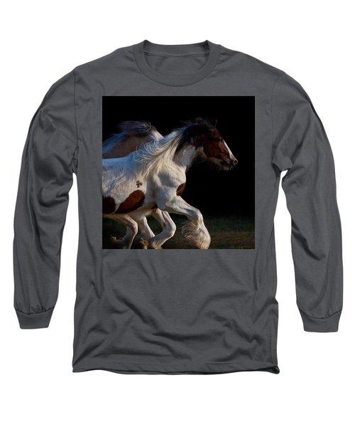 Midnight Run Long Sleeve T-Shirt by Sharon Jones