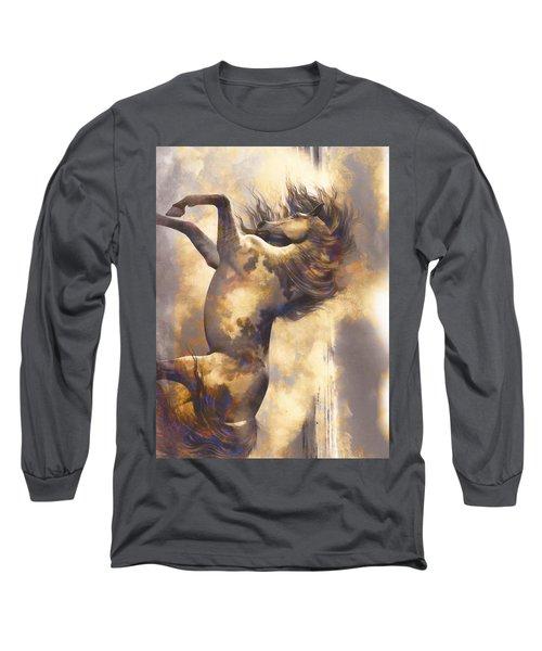 Midnight Run Long Sleeve T-Shirt by Yanni Theodorou