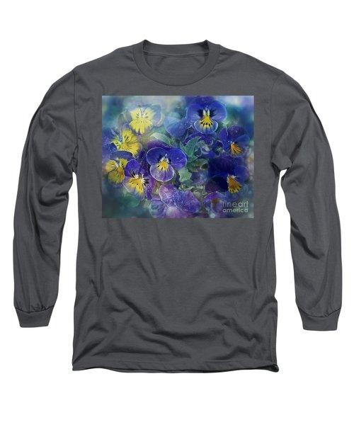 Midsummer Night's Dream Long Sleeve T-Shirt by Agnieszka Mlicka