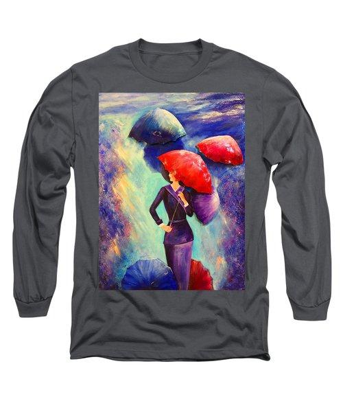 The Purple Lady Long Sleeve T-Shirt