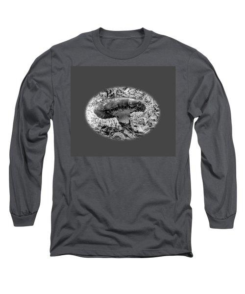 Mighty Mushroom T Shirt Style Long Sleeve T-Shirt