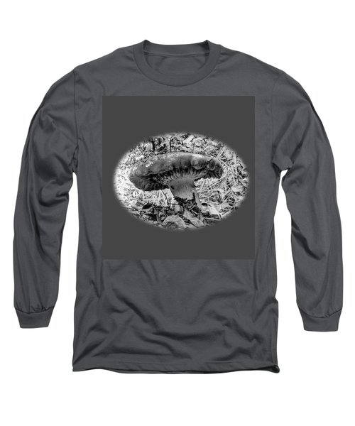 Mighty Mushroom T Shirt Style Long Sleeve T-Shirt