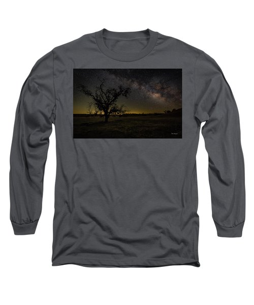 Miily Way In A Late Spring Sky Long Sleeve T-Shirt