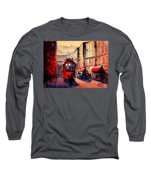 Milan Tram 2 Long Sleeve T-Shirt