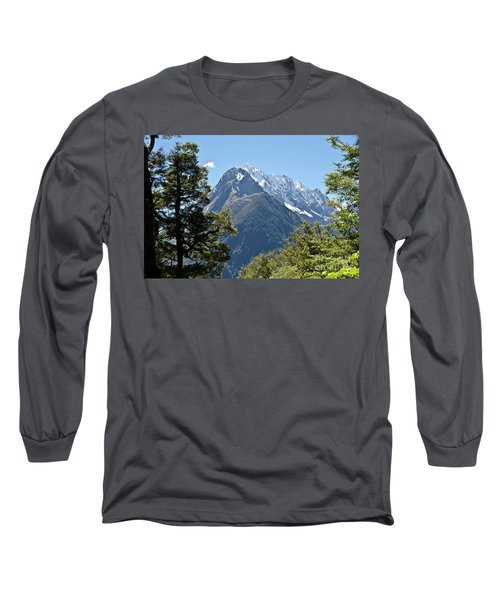 Milford Sound, New Zealand Long Sleeve T-Shirt
