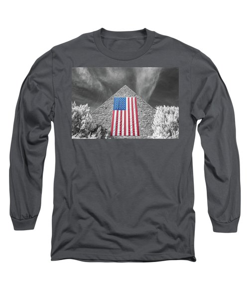 Long Sleeve T-Shirt featuring the photograph Military Vision 2 by Brian Hale