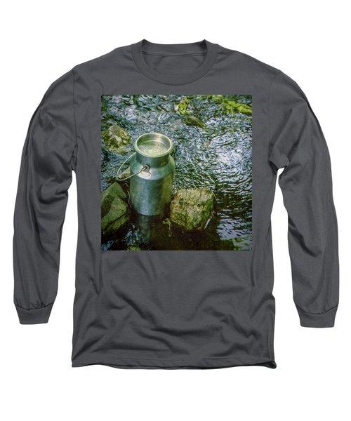 Milk Can - Wales Long Sleeve T-Shirt