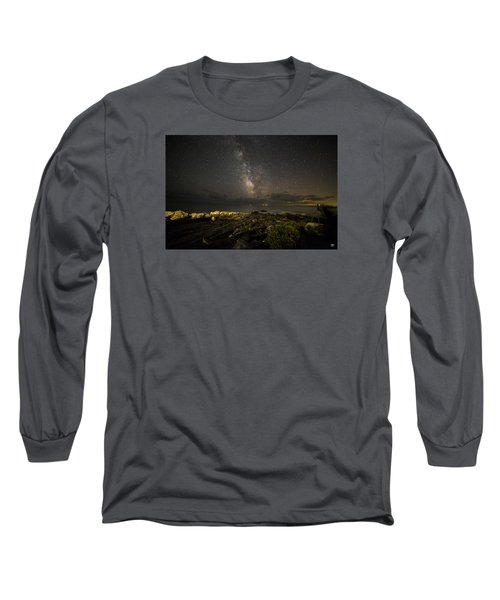 Milky Way At Pemaquid 2 Long Sleeve T-Shirt