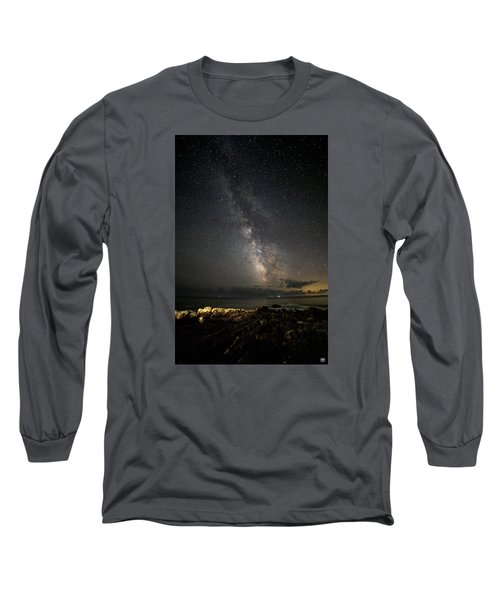 Milky Way At Pemaquid Long Sleeve T-Shirt