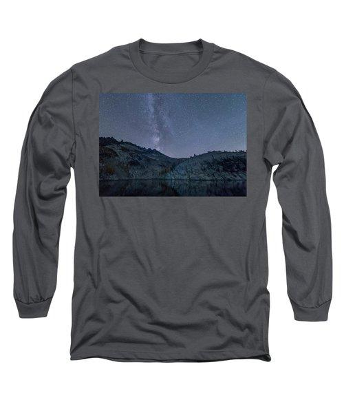 Milky Way At The Enchantments Long Sleeve T-Shirt