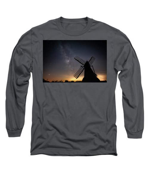 Milky Way At Wicken Long Sleeve T-Shirt