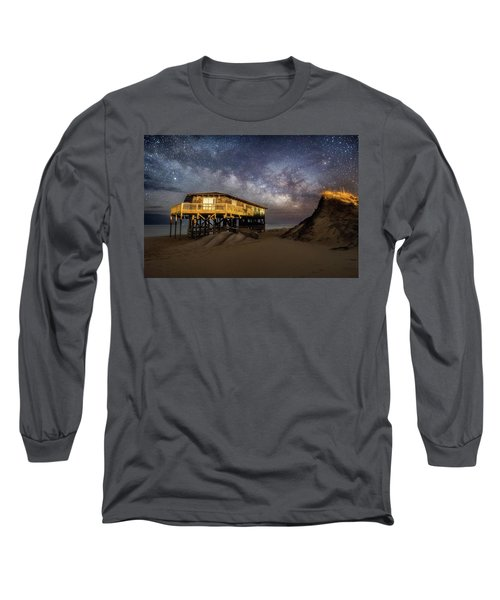 Milky Way Beach House Long Sleeve T-Shirt