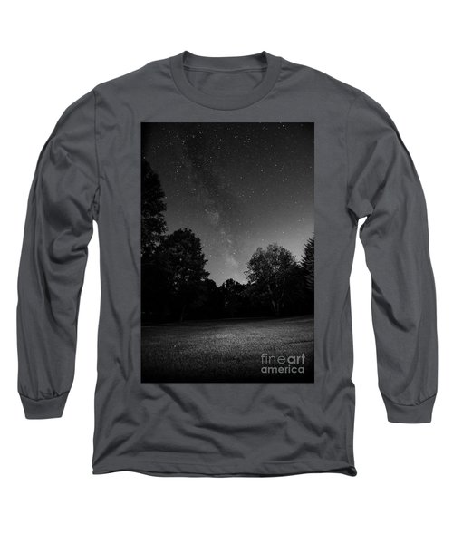 Milky Way Long Sleeve T-Shirt by Brian Jones