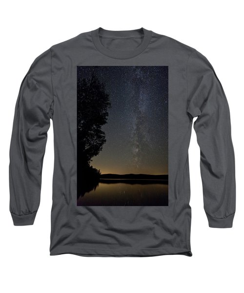 Milky Way Chocorua Lake Long Sleeve T-Shirt