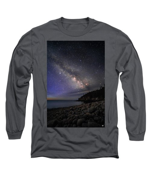 Milky Way Over Boulder Beach Long Sleeve T-Shirt