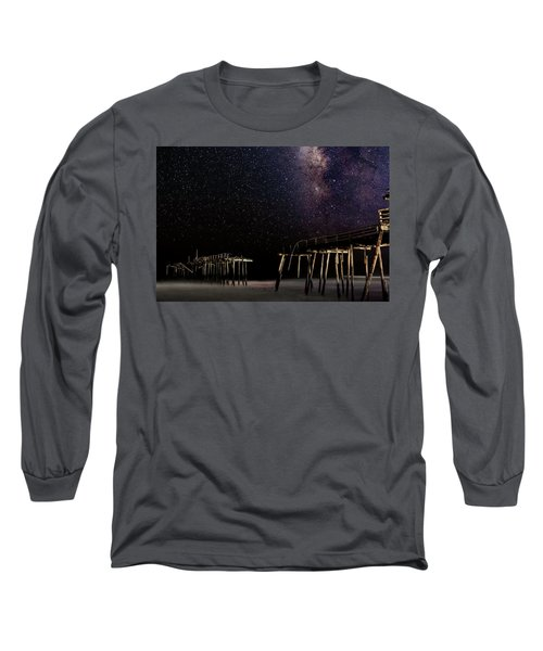 Milky Way Over Frisco Long Sleeve T-Shirt