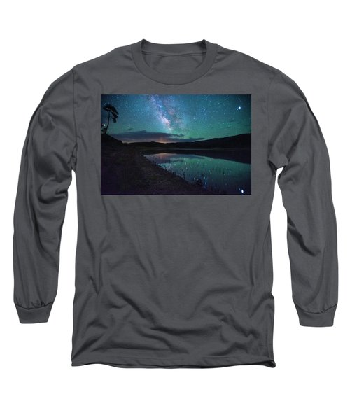 Milky Way Reflections Long Sleeve T-Shirt