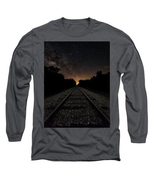 Milky Way Tracks Long Sleeve T-Shirt