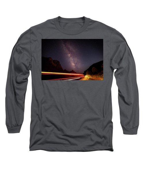 Milkyway Over The Higway Long Sleeve T-Shirt