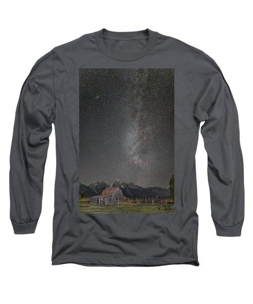 Milkyway Over The John Moulton Barn Long Sleeve T-Shirt