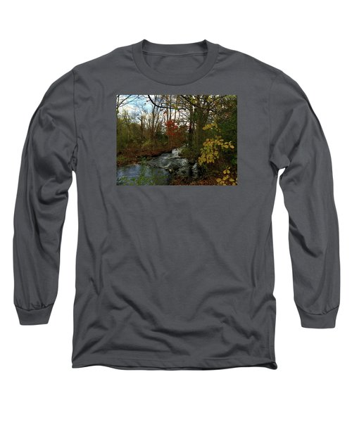 Mill Creek, Sandwich Massachusetts Long Sleeve T-Shirt
