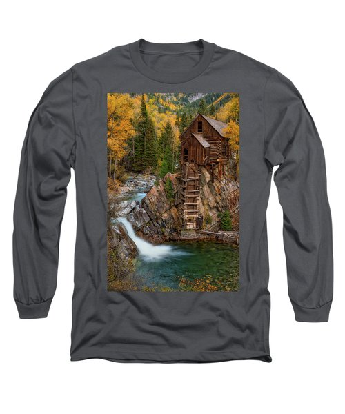 Mill In The Mountains Long Sleeve T-Shirt
