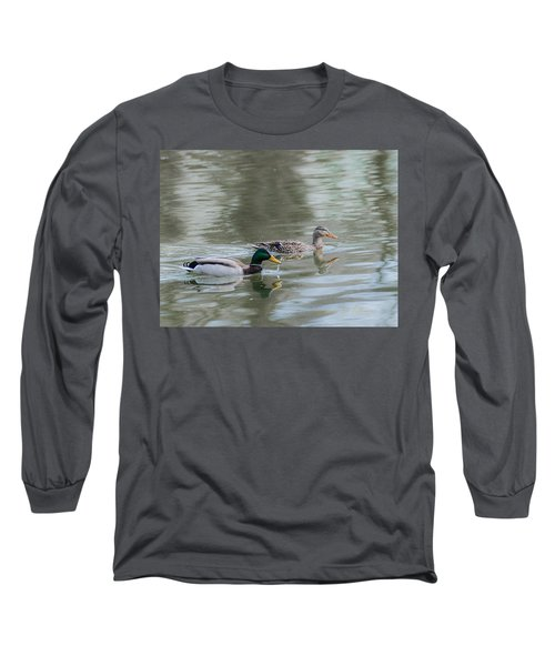 Long Sleeve T-Shirt featuring the photograph Millard Family by Edward Peterson