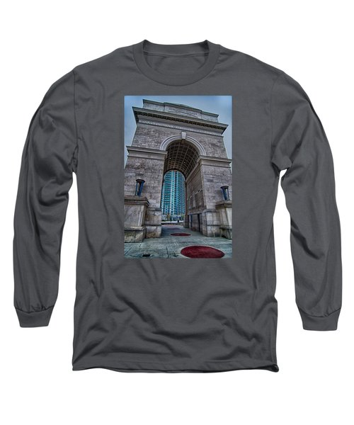 Millennium Gate Triumphal Arch At Atlantic Station In Midtown At Long Sleeve T-Shirt