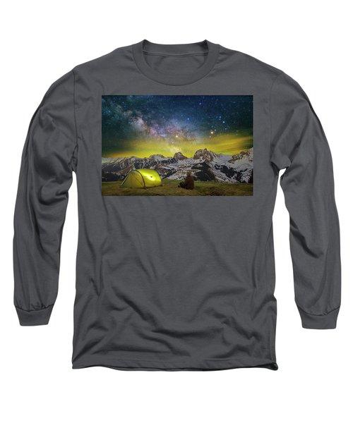 Million Star Hotel Long Sleeve T-Shirt