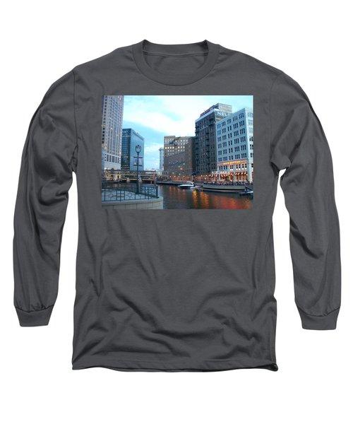 Milwaukee River Walk Long Sleeve T-Shirt