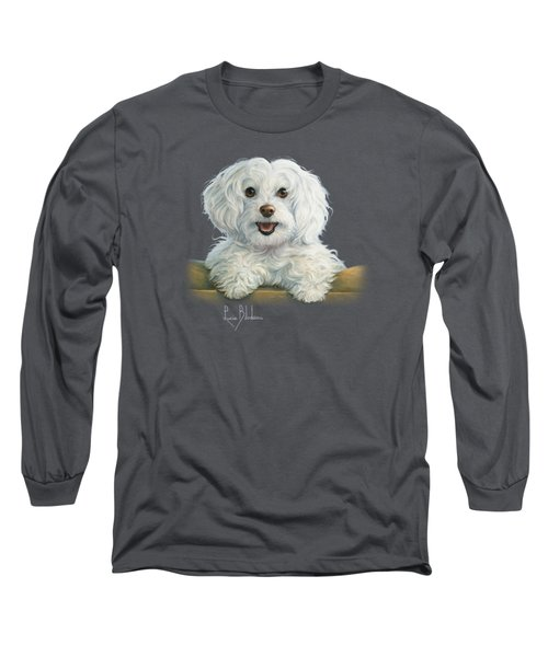 Mimi Long Sleeve T-Shirt by Lucie Bilodeau