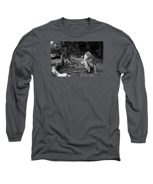 Mimic Long Sleeve T-Shirt by David Stasiak