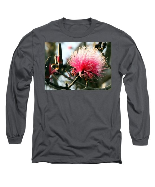 Mimosa In Bloom Long Sleeve T-Shirt