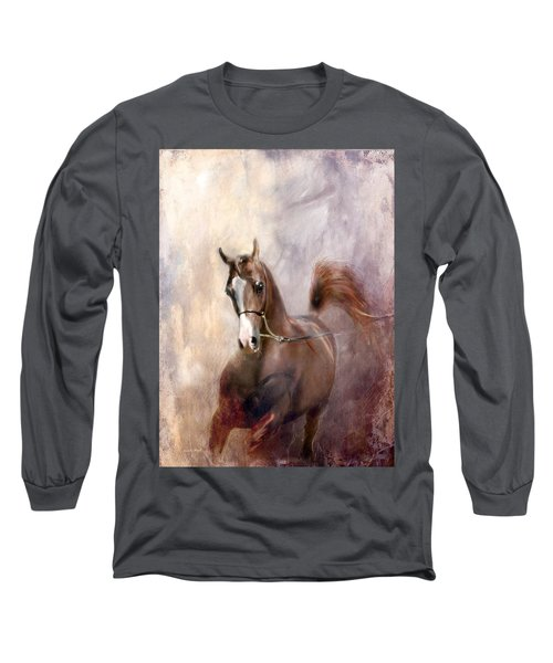 Long Sleeve T-Shirt featuring the digital art Mind Fed With Hope by Dorota Kudyba