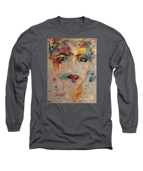 Minerva Long Sleeve T-Shirt by Denise Tomasura