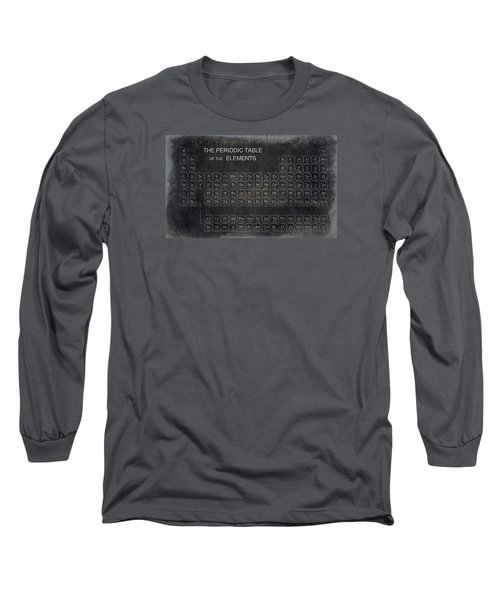 Minimalist Periodic Table Long Sleeve T-Shirt by Daniel Hagerman