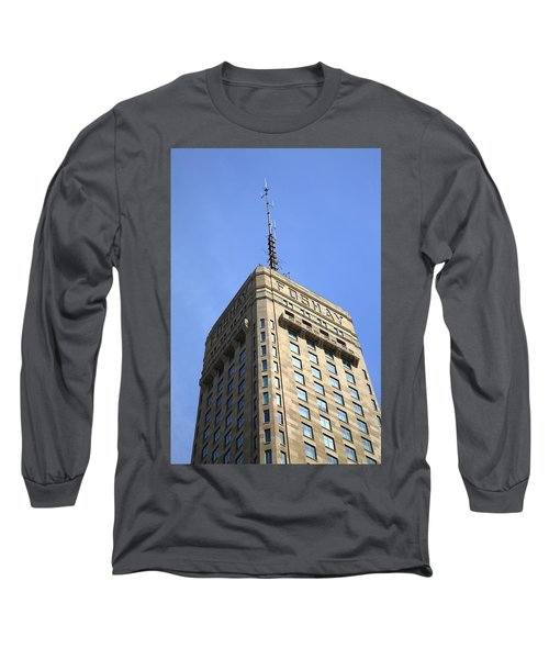 Long Sleeve T-Shirt featuring the photograph Minneapolis Tower 6 by Frank Romeo