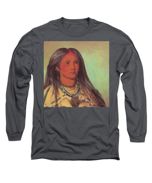 Mint A Mandan Girl 1832 Long Sleeve T-Shirt
