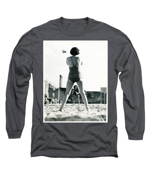 Miramar Pool, 1932 Long Sleeve T-Shirt