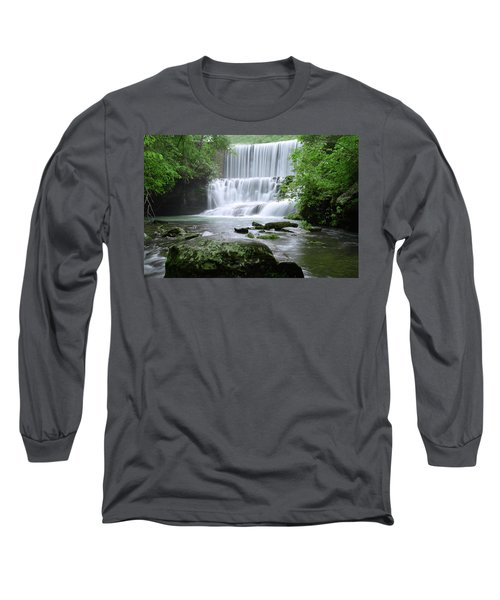 Long Sleeve T-Shirt featuring the photograph Mirror Lake by Renee Hardison