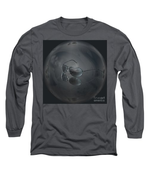 Long Sleeve T-Shirt featuring the photograph Mirror Me by Shirley Mangini